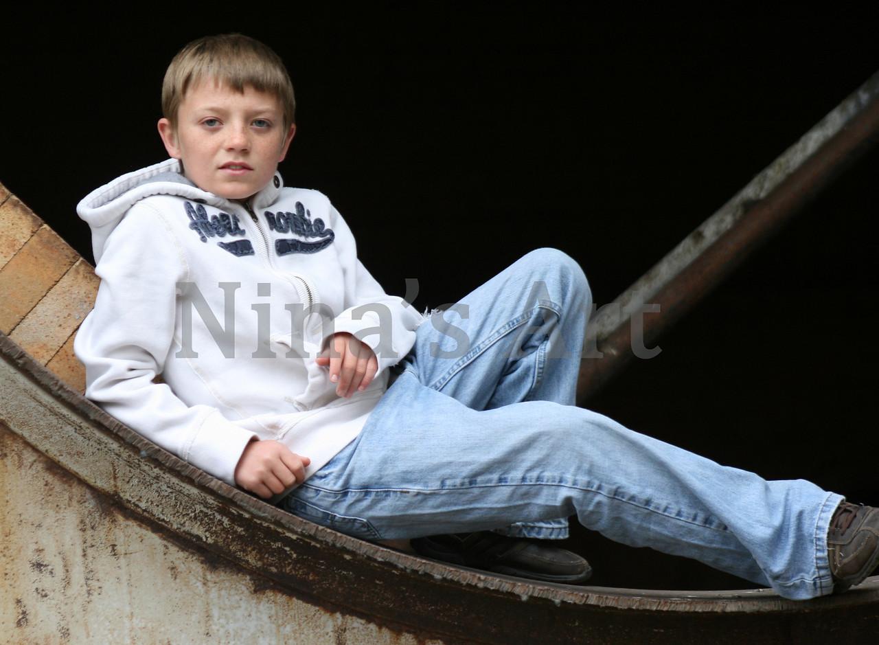 Tanner Sitting
