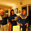 We all gather at Rich and Kathy's for the three November birthdays:  Dewey's 93rd, David's 60th, and Julie's 26th.