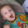 When you say 'Show Me', this the the reaction you get.  The boy loves him some cookies