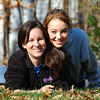 Jenni and Laurel on a great Fall day.