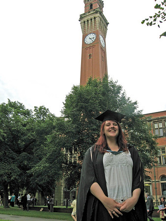 Ruth's Graduation: University of Birmingham, July 16 2009