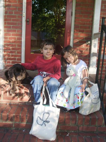 September 2, 2009 - First day of school (2nd Grade and Kindergarten)