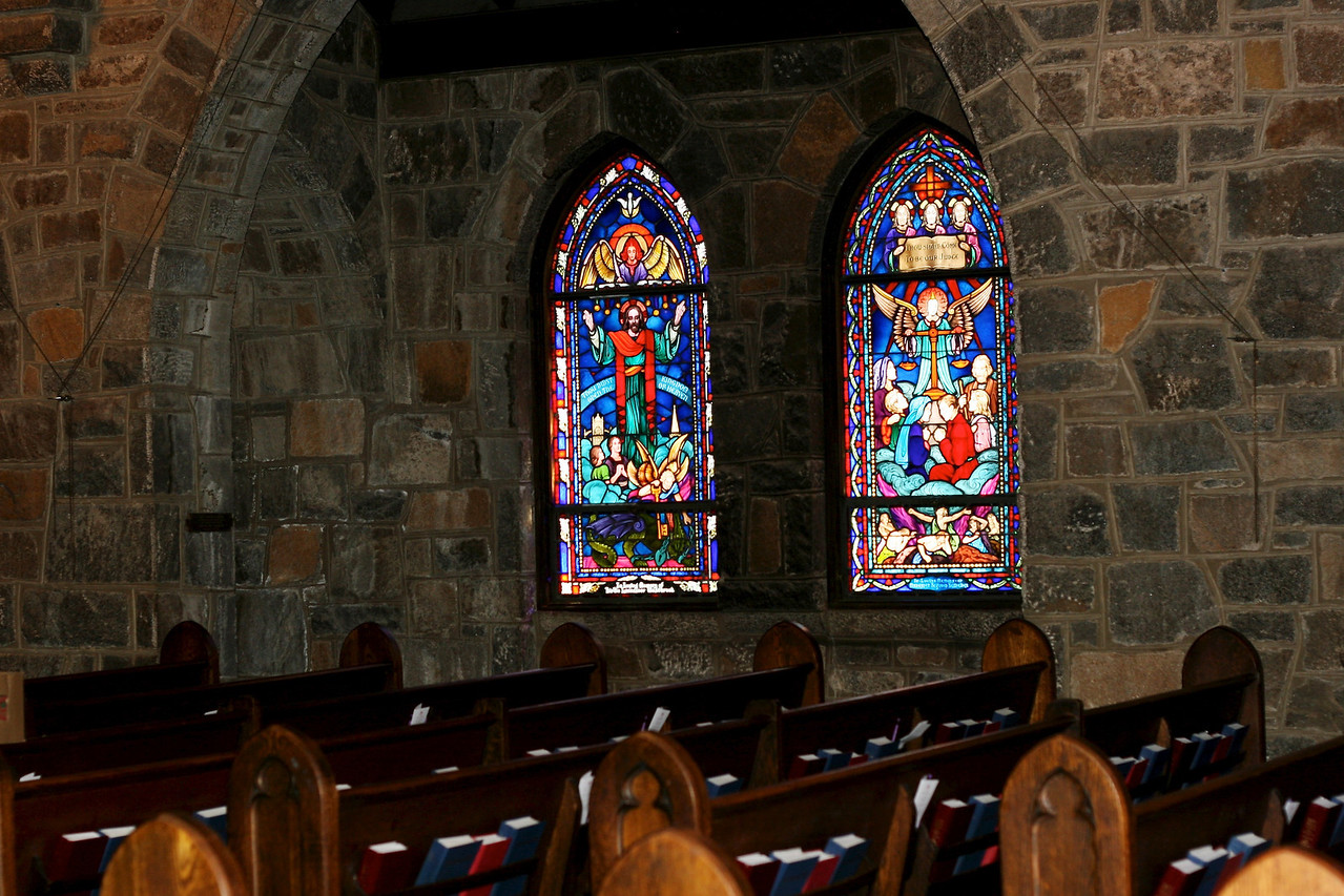 All Saints Episcopal Church in Chevy Chase - my childhood church home. The stained glass was exquisite.