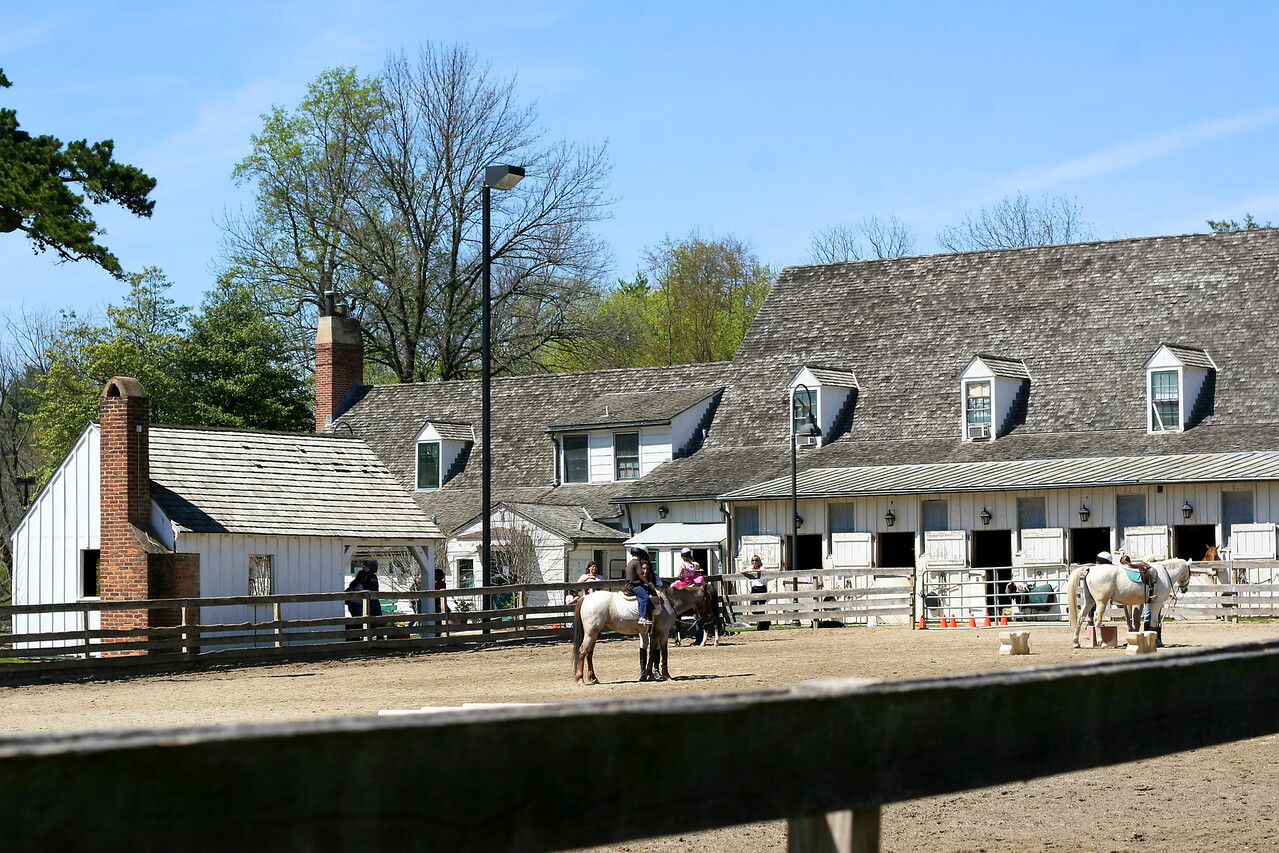 Meadowbrook Stables - where we rode, and Debbie eventually worked.