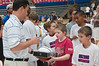 6.25.2009 -- Coach Miller autographing Connor's basketball.<br /> <br /> The closing ceremonies of the Sean Miller Basketball in which Connor participated.<br /> <br /> The closing ceremonies of the Sean Miller Basketball in which Connor participated.