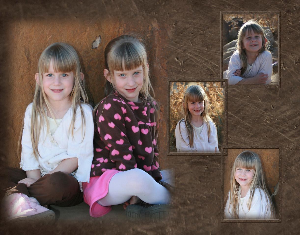 Caitlyn Collage framed2