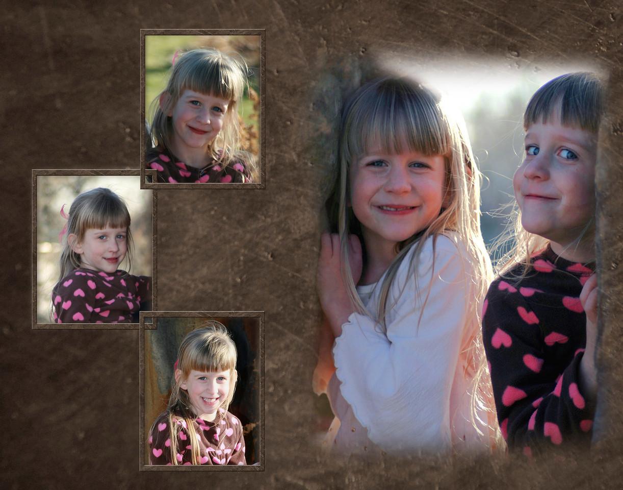 Lyndsay Collage framed