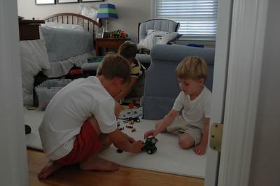 Legos - Jack, Will & Teddy