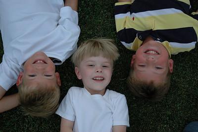 Lying in Grass - Jack, Will & Teddy