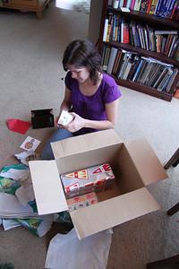 Ahhhh more presents hidden in the big box!