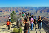 August at the Grand Canyon means lots of tourists.