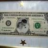 his wedding dollar