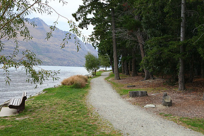 Pathway along water