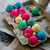Beverly's colorful eggs
