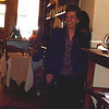 Angela come in to the surprise lunch at I Trulli restaurant and sees family singing Happy Birthday