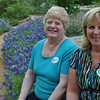Diane and Lyd at the Lady Bird Wildflower Center in Austin.  The Bluebonnets were phenomenal this year.