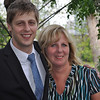 Wonderful picture of Chris and his sweet, sainted  Mother!