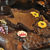 I love this display - the State of Texas in chocolate.  I would love to nibble on El Paso.  Smile