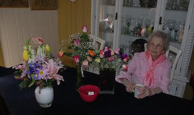 Memaw and her flowers....