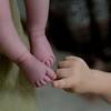 Quinn loves Maggie's feet