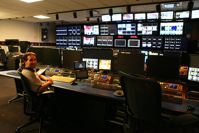 Larry working in the Control Room1