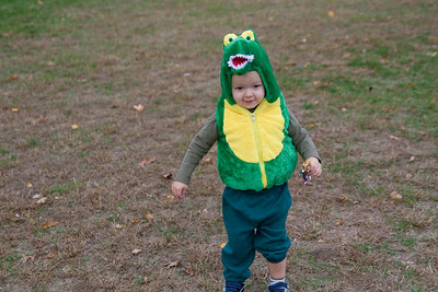 Quinton as an Alligator