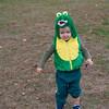 Quinton as an Alligator