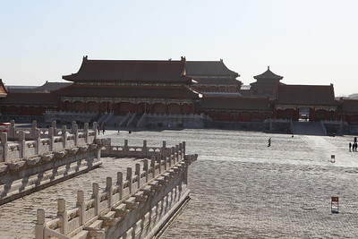 Nice view at the Forbidden City2