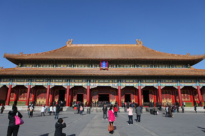 Temple at the Forbidden City