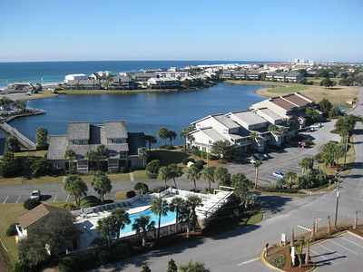 View From Destin Florida Condo December 2010