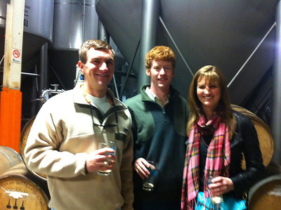 Morgan Bellmor, Andrew Kay & CiCi At Sweetwater Brewery Atlanta GA December 2010