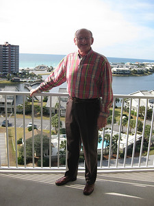Russell Bellmor At Destin Florida Condo December 2010
