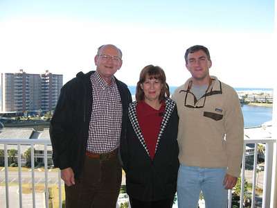 Ann, Russell & Morgan Bellmor Destin Florida Condo December 2010