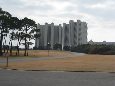 View Of Destin Florida Condo We Stayed At December 2010