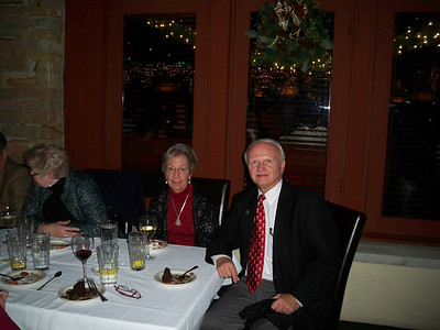 Nan & Heinz Wegener @ Cross Technologies Christmas Party At Ray's On Killers Creek Restaurant December  2010
