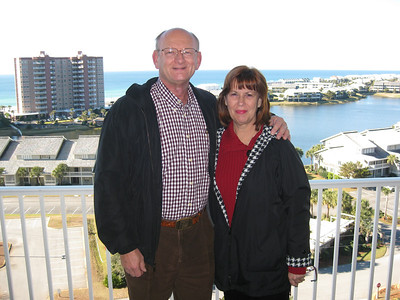 Ann & Russell Bellmor Destin Florida Condo December 2010