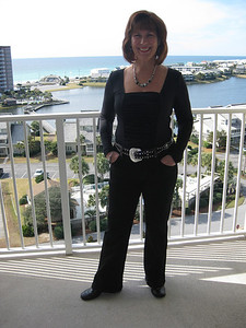 Ann Bellmor At Destin Florida Condo December 2010