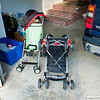Monday, July 5 - washed up the strollers, getting them ready!
