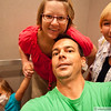 Tuesday, July 6 - silly elevator self-portrait group shot :)