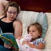 Shana read to Carley every night!