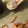 Carley wants to sleep near the baby, even if she has to sleep on the floor