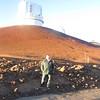At the top of Mauna Kea