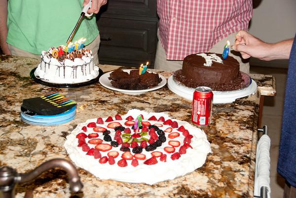 2010 July Family Birthdays