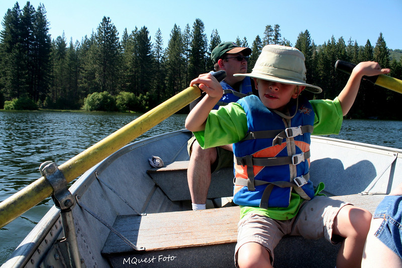 JR - Row Boats - Hume Lake - Sequoia