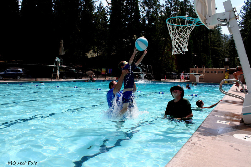 Hume Lake Pool Area-