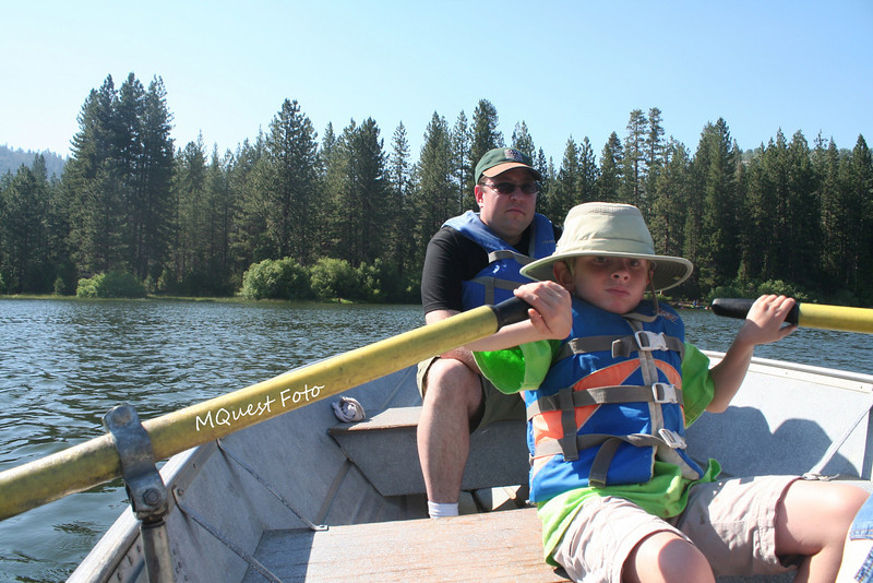 Row Boats - Hume Lake - Sequoia