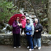 The family, below Bridal Veil Falls.