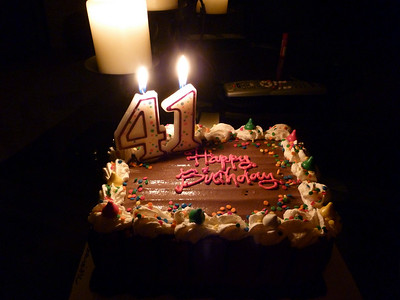 2010, November 2:  Jace's 41st birthday