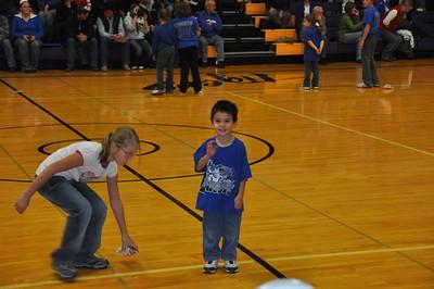 2010-12-10 Dylan Basketball Halftime Performance