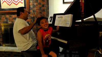 2010-11-17 AJ & Dad on Piano